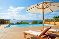 Beautiful holiday house nearby the beach with private pool, tennis court and marvellous views to the island of Es Vedra