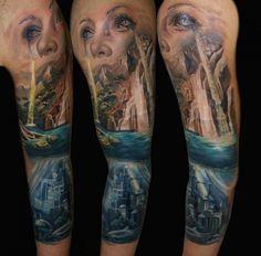 Incríveis Tatuagens Nos Braços | Tinta na Pele