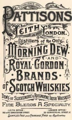 victorian era typography - Google Search