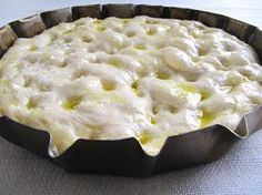 Focaccia – Sarda in Saòr I Love Food, Good Food, Yummy Food, Kenwood Chef Gourmet, Focaccia Pizza, Bread Recipes, Cooking Recipes, Scd Recipes, Italian Recipes