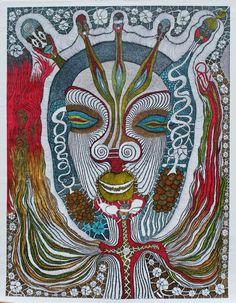 Evelyne Postic vient de terminer sa grande toile qui sera très prochainement exposée à Paris avec Galerie  Polysémie ! La galerie reste ouverte tout l'été 12 rue de la Cathédrale Marseille 13002