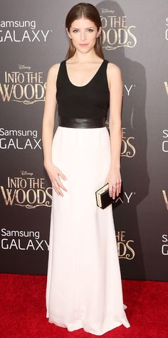 Look of the Day - December 9, 2014 - Anna Kendrick in Narciso Rodriguez from #InStyle