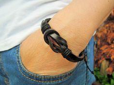 leather bracelet mens bracelet unisex bracelet by leatheristanbul