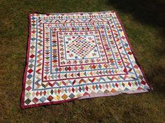 Guute's antieke quilt in wording, de top is klaar