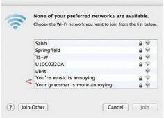 Passive agressive neighbor battle WiFi