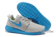 New Mens Nike Roshe Run Premium Wolf Grey Christchurch Peacock Shoes  TopDeals 8328f4032e6