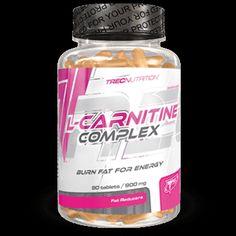 L-CARNITINE COMPLEX: 500 mg Winianu L-Karnityny w 1 tabletce   Kompleksowa formuła odchudzająca Ogranicza apetyt i nasila spalanie kalorii 500 mg Winianu L-Karnityny w 1 tabletce
