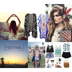 Designer Clothes, Shoes & Bags for Women Pam & Gela, Festival Looks, Charlotte Russe, Yves Saint Laurent, Tory Burch, Polo Ralph Lauren, Sunday, Vans, Polyvore