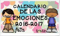 Calendario de las Emociones 2016-2017 (Imageneseducativas.com)