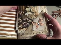 Ladies and Lace Junk Journal - YouTube