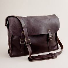 J Crew - Leather Railway Bag (got this from the Basics of Man blog)