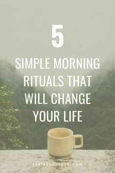Simple morning rituals for happiness and self care. Start each day on the right note by spending just a few minutes doing these unique morning rituals that will change your life! #selfcare #selflove #miraclemorning #mindbodysoul Morning Meditation, Morning Ritual, Gratitude Journals, Miracle Morning, Mind Body Soul, Your Life, You Changed, Something To Do, Spirituality