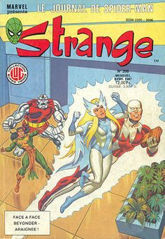 Strange #208 - Le journal de Spider-Man