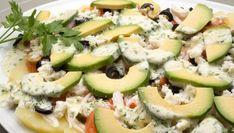 Receta de Ensalada de patata, aguacate y salmón ahumado