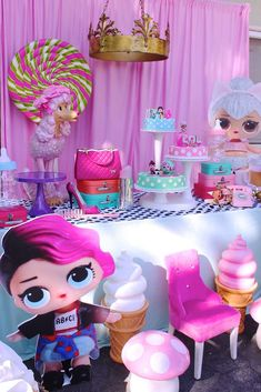 LOL Surprise Doll Birthday Party Ideas | Photo 1 of 17