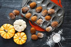 Lots of mediocre recipes tend to shoehorn pumpkin into the mix, but the best come about when pumpkin feels organic to the dish. A great example of the latter is Lena Kwak's pumpkin madeleines, which not only capture the flavors of fall, but utilize them to enhance an already delicious. | Health.com