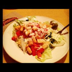 LaRosa's Original Tossed Garden Salad... What's your dressing of ...