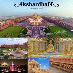 http://www.sanskritimagazine.com/indian-religions/hinduism/akshardham-worlds-largest-hindu-temple/