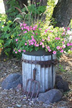 Cider Press Planter | by Gardening Junky