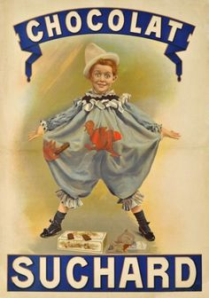 Chocolat Suchard - Vintage Posters - Galerie 123 - The place to find vintage art
