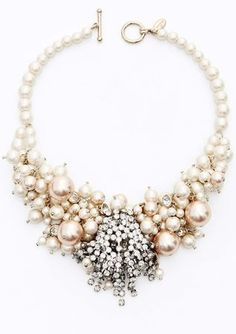 Very beautiful necklace for the Bride! Certainly perfect for a Caribbean/Tropical Destination Wedding!
