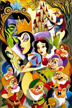 Snow White montagem
