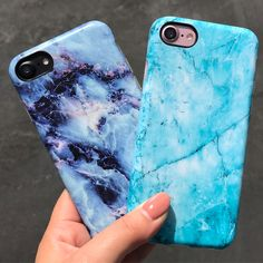 Our Monday blues Geode & Atlantis Case for iPhone 8 / iPhone 8 Plus / 7 Plus & iPhone X from Elemental Cases Iphone 7 Phone Cases, Iphone Cases Disney, Phone Cases Marble, Marble Case, Cute Phone Cases, Iphone Case Covers, Iphone 10, Iphone 8 Plus, Atlantis
