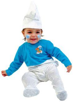Dank diesem herzigen Schlumpf-Overall von Hilka schlagen die Herzen aller Eltern und Großeltern höher!    Auch die Kleinen selbst fühlen sich in diesem niedlichen Schlumpf-Kostüm mit weißer Mütze pudelwohl!
