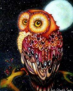animal Owl square Diamond Painting DIY Diamond Mosaic Cross Stitch Set Animal Full Diamond Embroidery Home Decor painting Owl Art, Bird Art, Mosaic Animals, Owl Pictures, Beautiful Owl, Cross Paintings, Owl Paintings, 5d Diamond Painting, Cute Owl