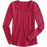Long Sleeve Samba V-Tee  #tee #top #longsleeve #apparel #women #fashion #coffeetable  Found on www.coffeetable.com!