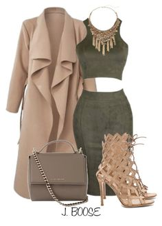 """""""Untitled #416"""" by piinkdreamss ❤ liked on Polyvore featuring moda, Gianvito Rossi, Saks Fifth Avenue e Givenchy"""