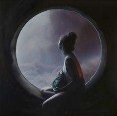 Seamus Conley's Work Traverses Digital Fantasy, Reality Fantasy Paintings, Fantasy Art, Space Artwork, Sci Fi Novels, Sci Fi Environment, Arte Pop, Science And Nature, Figure Painting, Photo Manipulation