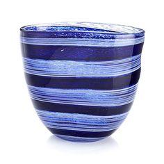 Regatta Vase in Art Glass | Crate and Barrel