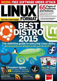 #Linux Format 203. Best #distro 2015.