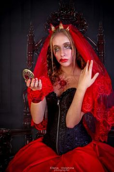 our way of Halloween 2015. inspired Lady Bathory