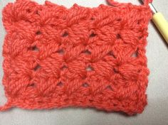 Móc hoạ tiết  Crochet zic zac puff stitch