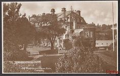 GUERNSEY OLD GOVERNMENT HOUSE HOTEL FROM GARDENS PHOTO  CARD