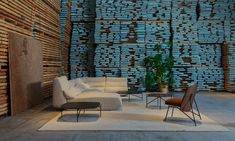 Prostoria holds Revisiting Factory exhibition in response to cancelled furniture fairs Living Room Seating, Living Room Furniture, Timber Planks, Drying Room, Timber Structure, Furniture Factory, High Quality Furniture, Soft Furnishings, Design Process