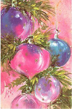 Loud Pink & Purple Ornaments | by franceseattle