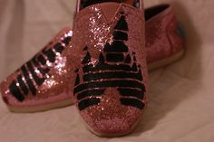 Sparkly Disney Toms!  @Meredith Blanford! These just made me think of you!!!! I don't really know why but they do!