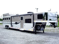 horse trailers by Sundowner of Tennessee features Sundowner horse trailers, Kiefer Built horse trailers, Living quarters, living quarters ho...