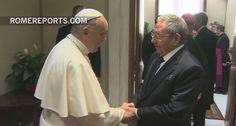 28 de diciembre, 2015. El líder cubano dijo que el Papa le inspiró para pensarse volver a ser católico.