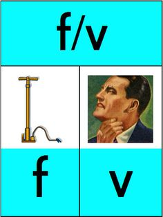 Spelling f en v by Judy Goedhart Therapy, Teaching, Education, School, Image, Homework, Touch, Google, Kids