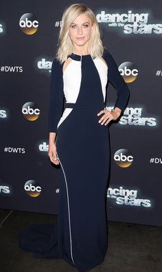 Julianne Hough Rocked a Color-Blocked Dress on Dancing with the Stars