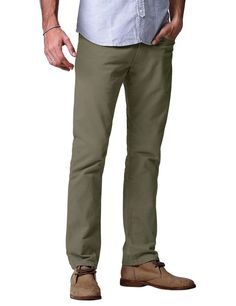 Match garments men's breathable chino pants is designed with straight leg cutting & dual stitch details, which will be the most comfortable and durable pants you'll ever wear. -Stylish, flat front, slim fitting pants with tapered legs. | eBay!