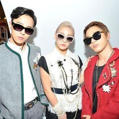 "CL, GD, YB - Chanel ""2015/16 Cruise Collection"" Fashion Show (150504)"
