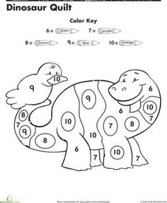 Color By Number Cat
