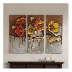 Flower Painting Canvas, Oil Painting Flowers, Canvas Art, Art Nouveau Illustration, Pallet Art, Mural Art, Art Images, Design Art, Modern Art