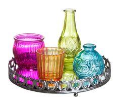 Set Bandeja Espelho Glamour Color
