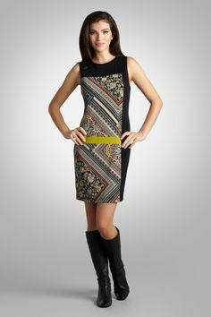 Super fun pattern! Scarf Print Paisley Sheath